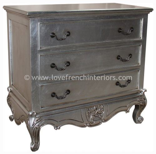 Louis Three Drawer Chest